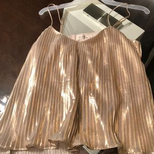 Abercrombie&Fitch Gold Blouse